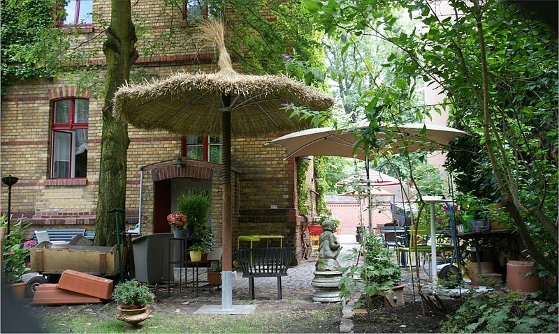 outdoor living exklusive gartenm bel strohschirme hiss reet. Black Bedroom Furniture Sets. Home Design Ideas