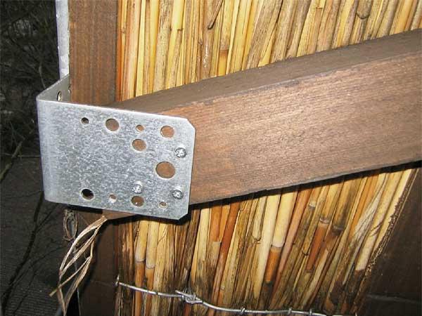 reet wand trennwand sicht windschutz univeral hiss reet. Black Bedroom Furniture Sets. Home Design Ideas
