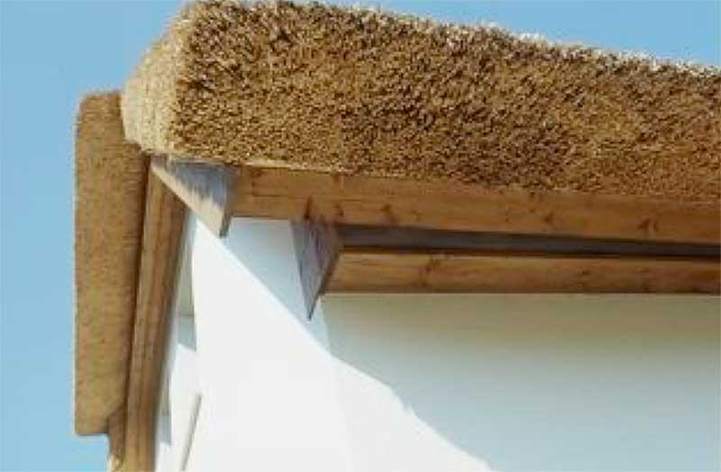 Construction Of The Thatched Roof